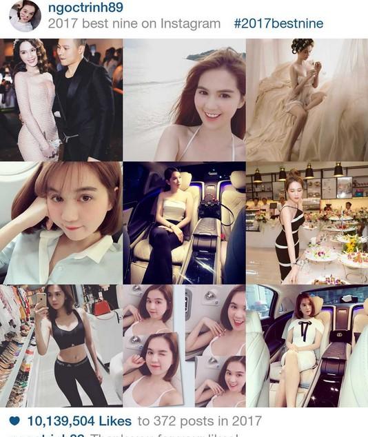 9 khoảnh khắc hot nhất 2017 trên Instagram sao Việt hơn 1 triệu fan - 3