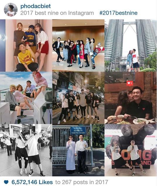 9 khoảnh khắc hot nhất 2017 trên Instagram sao Việt hơn 1 triệu fan - 7