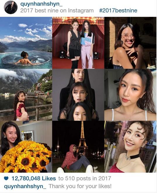 9 khoảnh khắc hot nhất 2017 trên Instagram sao Việt hơn 1 triệu fan - 1