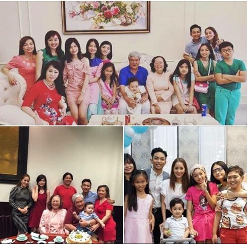 Sao Việt đón 2018: Người hạnh phúc bên gia đình, kẻ xuất ngoại đầu năm - 9