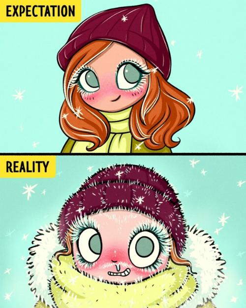 Những nỗi khổ vào mùa đông chỉ con gái mới thấu - 4