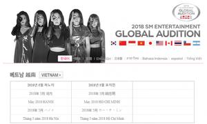 SM cập nhật website tiếng Việt, xác nhận tuyển thực tập sinh vào tháng 5
