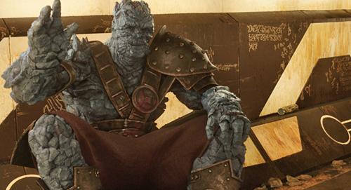 Korg  nhân vật mặn mà nhất phần phimThor: Ragnarok.