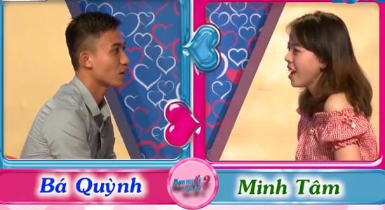 Minh Tâm - Bá Quỳnh gặp nhau tại chương trình hẹn hò.