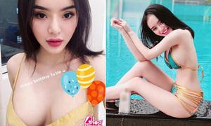 Em gái Angela Phương Trinh diện đồ khoe thân còn 'ác liệt' hơn chị