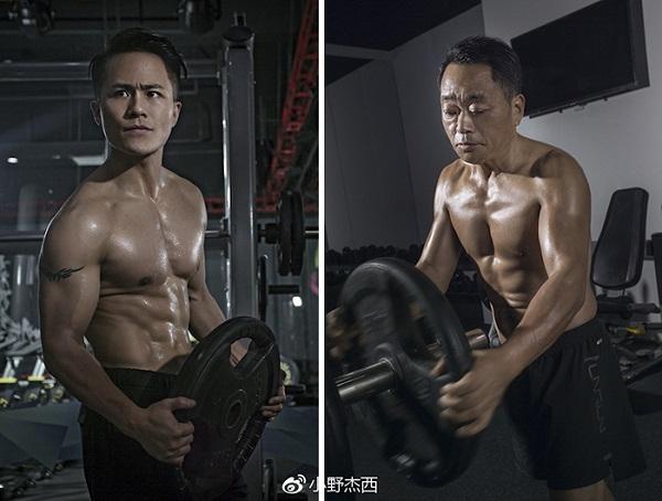 Cả gia đình tập gym và thay đổi ngoạn mục sau 6 tháng - 9