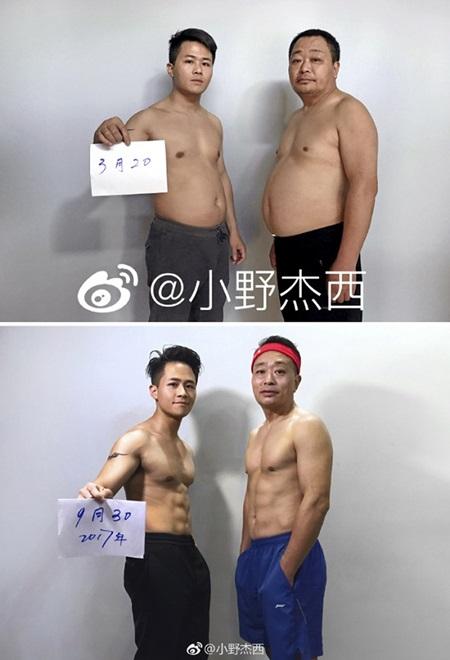 Cả gia đình tập gym và thay đổi ngoạn mục sau 6 tháng - 6