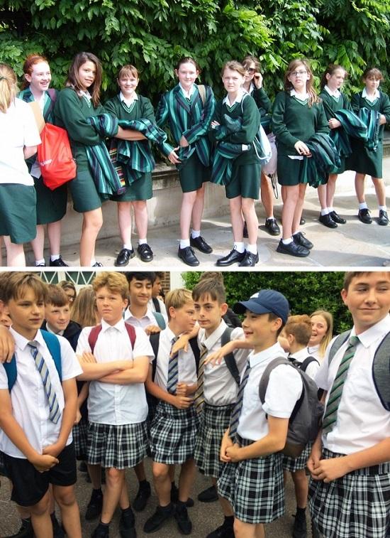 Đồng phục học sinh khắp thế giới - 1