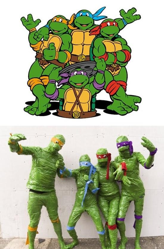 Ninja rùa.