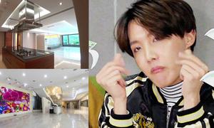 Tiết lộ hình ảnh khu ký túc xá đắt đỏ của BTS