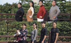 Cả gia đình tập gym và thay đổi ngoạn mục sau 6 tháng