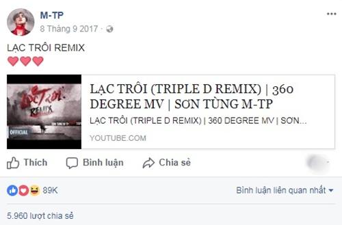 Chia sẻ clip mới ra mắt, ca sĩ 9X cũng không nhắn nhủ bất cứ điều gì với fan mà đề tên MV kèm icon đáng yêu.