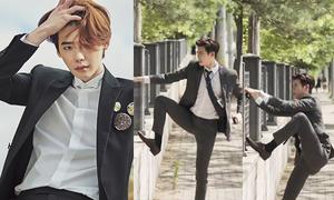 Lợi thế 'chân dài đến nách' của các mỹ nam Hàn Quốc