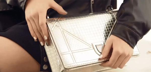 Chiếc túi Diorama của Linh Ka.