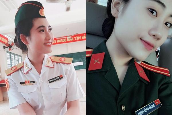Nhan sắc hot girl quân nhân hẹn hò chớp nhoáng với Karik - 3