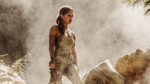 Nữ diễn viên Alicia Vikender thay thế Angelina Jolie trong hình tượng Lara Croft.