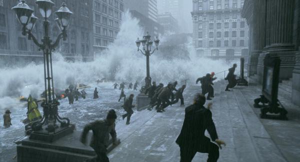 Con người phải hứng chịu thảm họa thiên nhiên đáng sợ trong The Day After Tomorrow