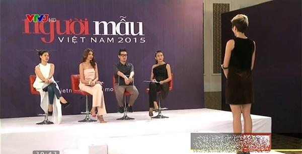 Mâu Thủy từng ngồi ghế nóng chấm HHen Niê tại một cuộc thi người mẫu.