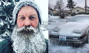 Cả nước Mỹ co ro trong giá lạnh vì 'bom thời tiết'