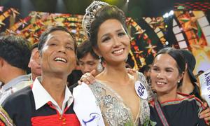 H'Hen Niê khóa Facebook sau khi đăng quang Hoa hậu Hoàn vũ