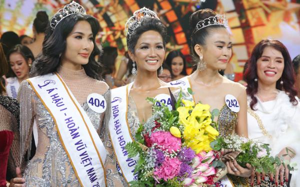 HHen Niê đăng quang Hoa hậu Hoàn vũ Việt Nam 2017