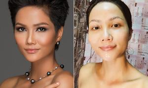 Nhan sắc thật của Hoa hậu H'Hen Niê khi rũ sạch phấn son