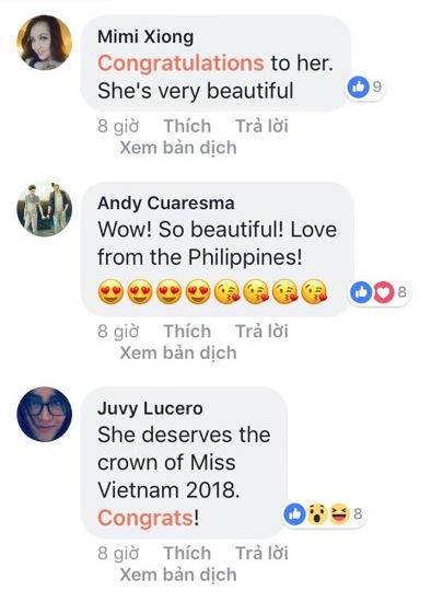 Người nước ngoài nói gì về tân Hoa hậu Hoàn vũ Việt Nam - 2