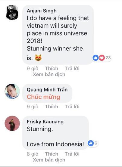 Người nước ngoài nói gì về tân Hoa hậu Hoàn vũ Việt Nam - 4