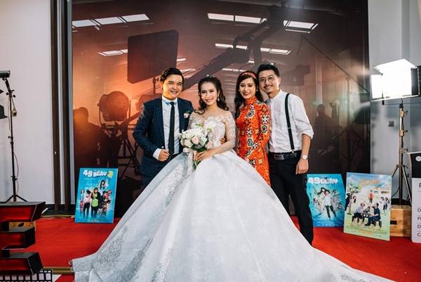 Lan Ngọc và dàn sao Việt dự đám cưới diễn viên Cánh đồng bất tận - 4