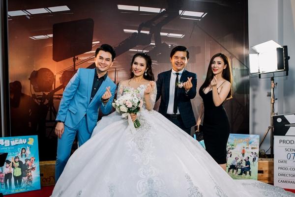 Lan Ngọc và dàn sao Việt dự đám cưới diễn viên Cánh đồng bất tận - 5