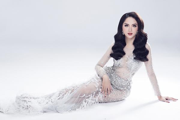 Vẻ sexy của Hương Giang khi tham dự Hoa hậu chuyển giới - 2