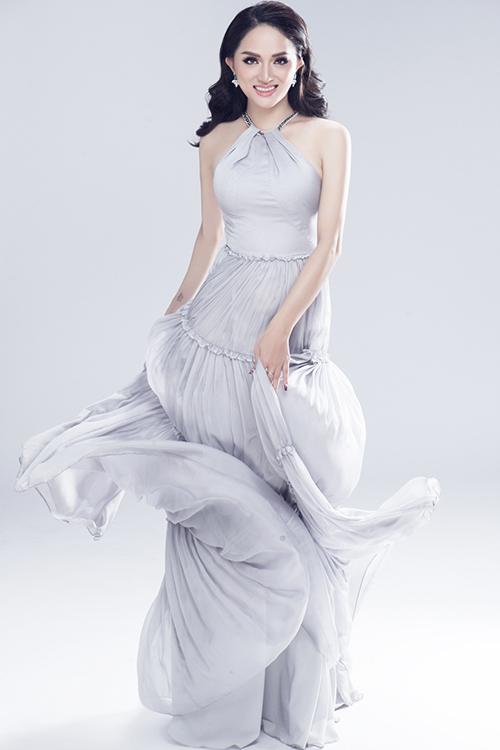 Vẻ sexy của Hương Giang khi tham dự Hoa hậu chuyển giới - 8