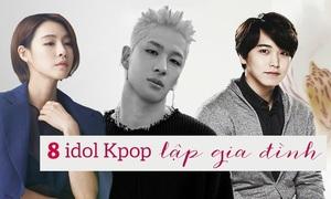Fan Kpop thấy mình đã già khi các idol này lập gia đình, sinh con