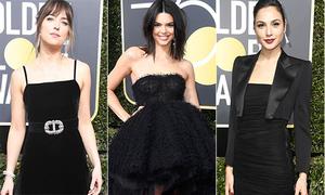 Dàn sao Hollywood diện độc một màu đen lên thảm đỏ Quả cầu vàng 2017