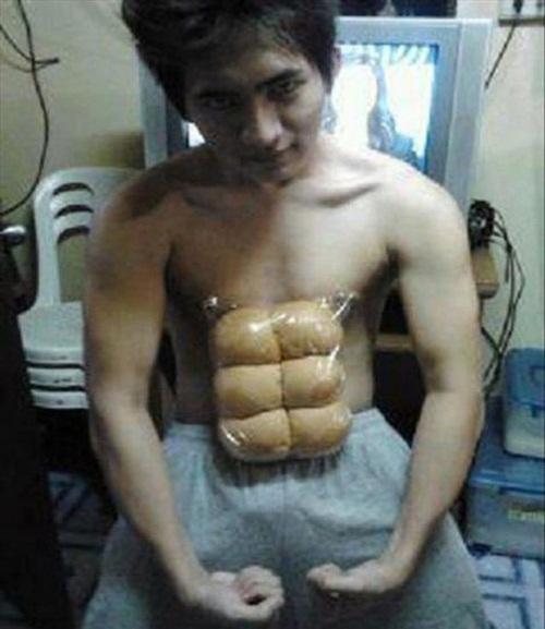 Vòng eo bánh mì