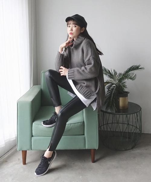 101 công thức phối áo len cổ lọ thách thức trời rét buốt - 5