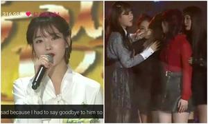 IU tưởng nhớ Jong Hyun trên sân khấu, Yeri bật khóc nức nở