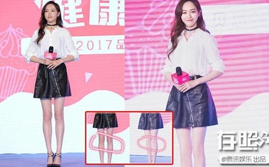 Loạt mỹ nhân Hoa ngữ là nạn nhân của photoshop - 1