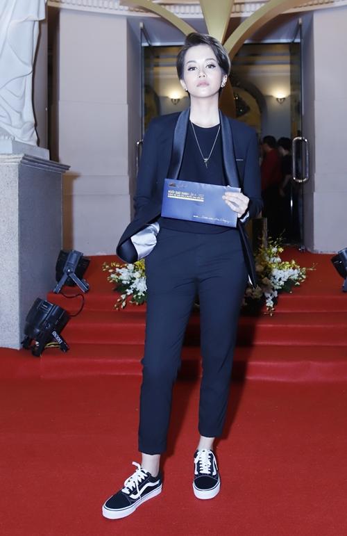 Rừng sao Việt đổ bộ thảm đỏ giải thưởng điện ảnh - 8