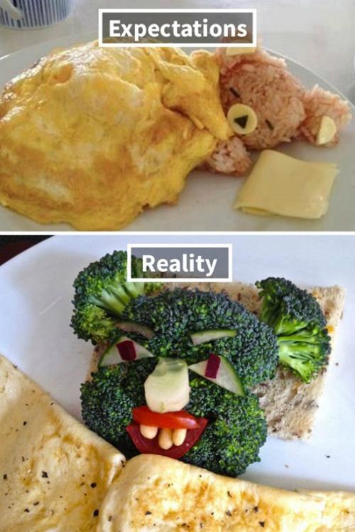 Biến tấu bữa ăn với nhiều rau xanh nhưng lại khiến người ta sợ rau luôn.