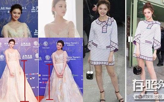 Loạt mỹ nhân Hoa ngữ là nạn nhân của photoshop - 4