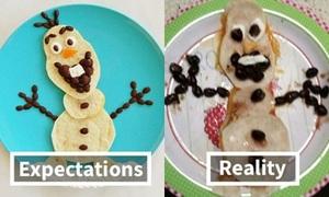 Cười rớt hàm với sản phẩm học nấu ăn qua mạng