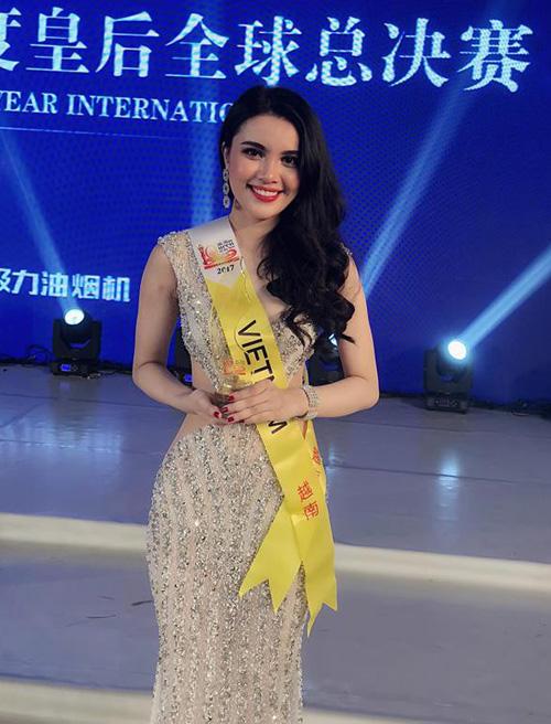 Cô gái sẽ lên ngôi Hoa hậu Đại dương nếu Ngân Anh bị tước vương miện - 7
