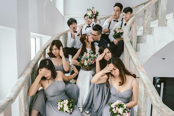 Em gái Trấn Thành lên xe hoa cùng bạn trai người Hong Kong - 10