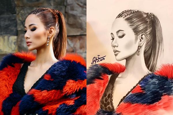 Chàng họa sĩ dành thanh xuân để vẽ Hoa hậu, Á hậu - 8