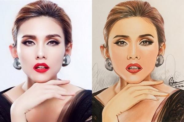 Chàng họa sĩ dành thanh xuân để vẽ Hoa hậu, Á hậu - 10