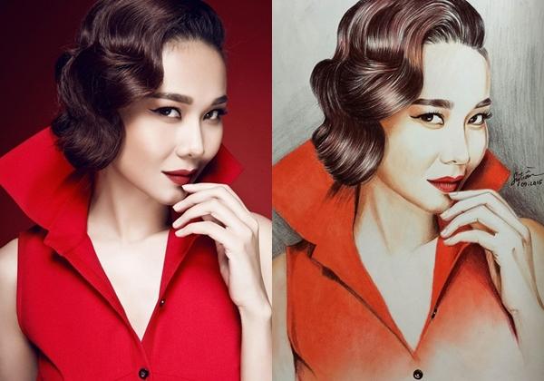Chàng họa sĩ dành thanh xuân để vẽ Hoa hậu, Á hậu - 4