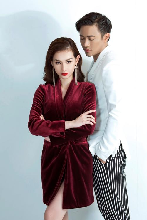 Quỳnh Chi thân mật bên Quý Bình như tình nhân - 4