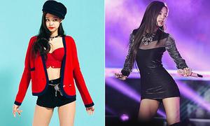Top 10 bộ cánh sexy 'đốt mắt' của idol sang chảnh Jennie