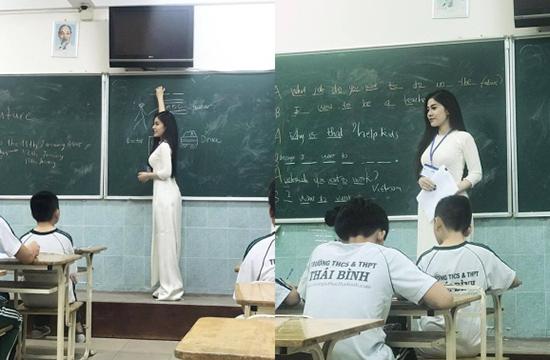 Cô giáo trẻ body quyến rũ, biết 3 ngoại ngữ